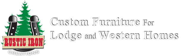 Rustic Iron Creations | Custom Lodge and Western / Cowboy Chic Furniture